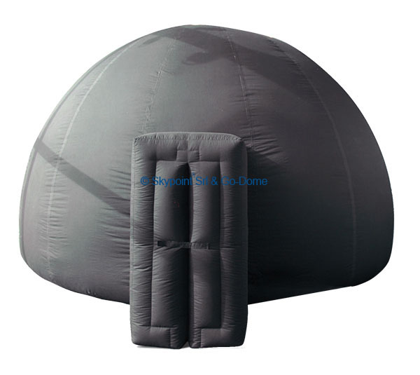 Example of Go-Dome standard inflatable dome.